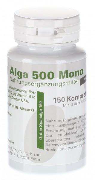 Alga 150 - Blaugrüne Uralge 500mg Kompretten