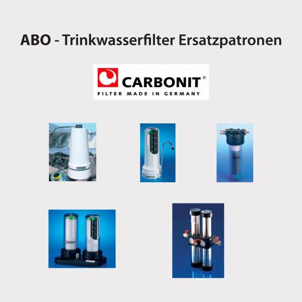 ABO - Trinkwasserfilter Ersatzpatronen